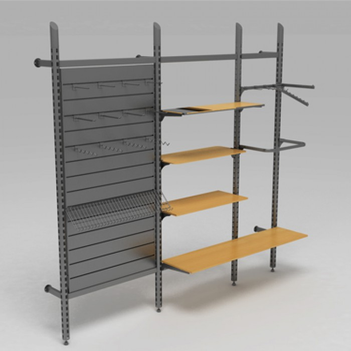 RETAIL SHELVING AKCENT 2
