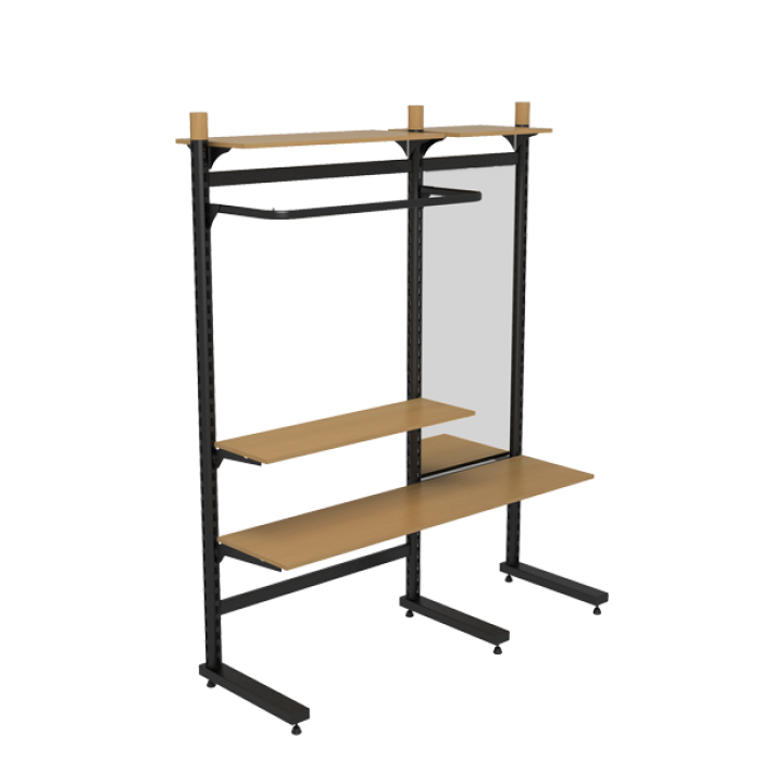 RETAIL SHELVING AKCENT 1