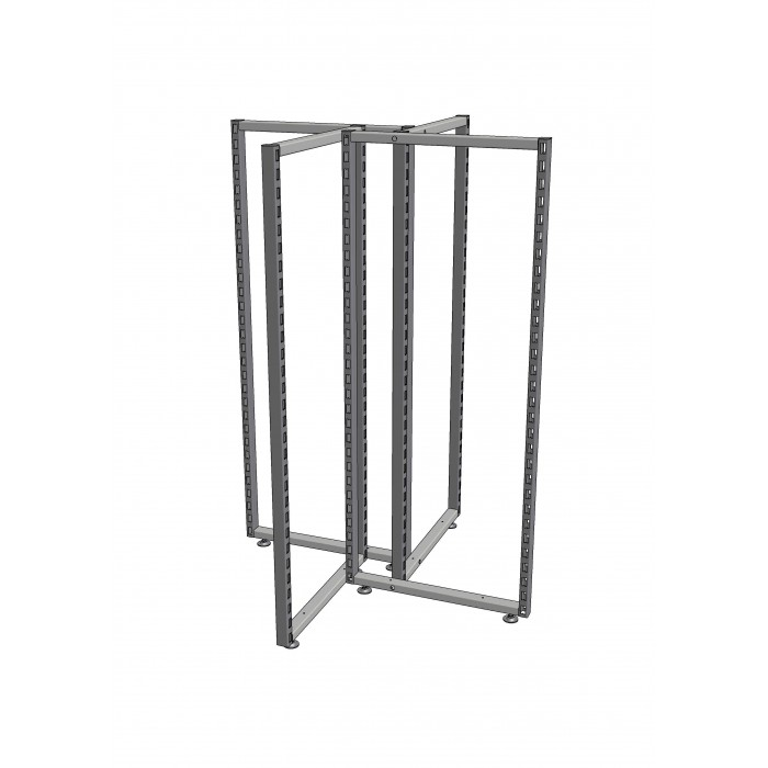 X-TYPE CLOTHES RACK SRX4-150-60 Н15