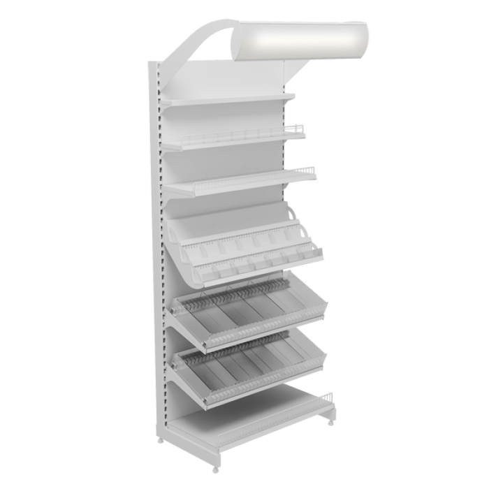 RETAIL SHELVING UNI 21
